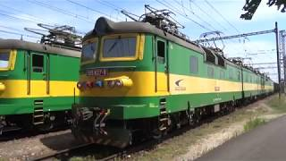 SLOVAKIA  -  by rail, Russian Broad Gauge and Standard Gauge running side by side