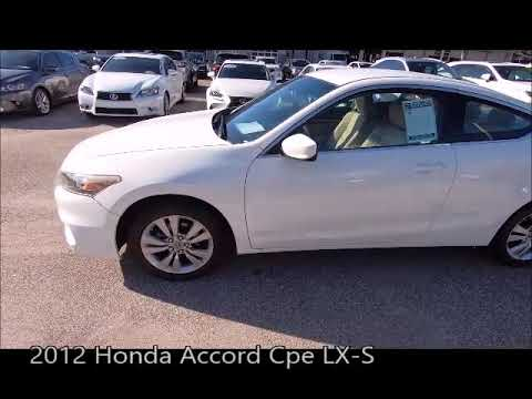 Honda Of Fort Myers >> Used 2012 Honda Accord Cpe Lx S Near Fort Myers And Cape Coral