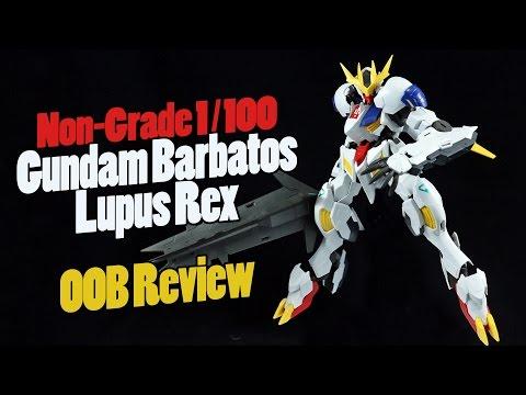 1076 - 1/100 Gundam Barbatos Lupus Rex...