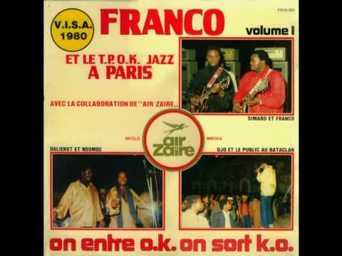 Liyanzi Ekoti Ngai Na Motema (Ntesa Dalienst) - T.P. O.K. Jazz 1979