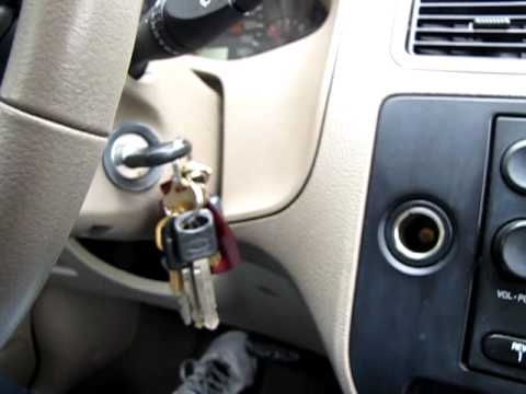 Key Stuck In Ignition Ford Focus 2006 Youtube