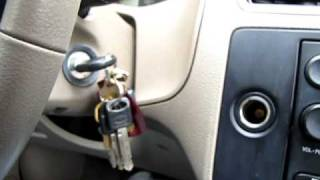 Key stuck in ignition Ford Focus 2006