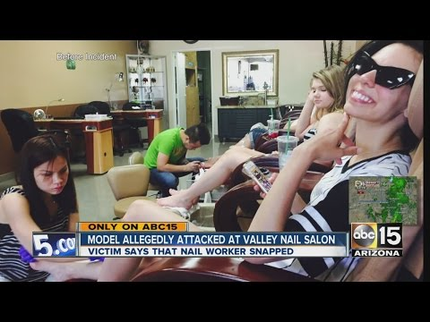 Model allegedly attacked at Scottsdale nail salon
