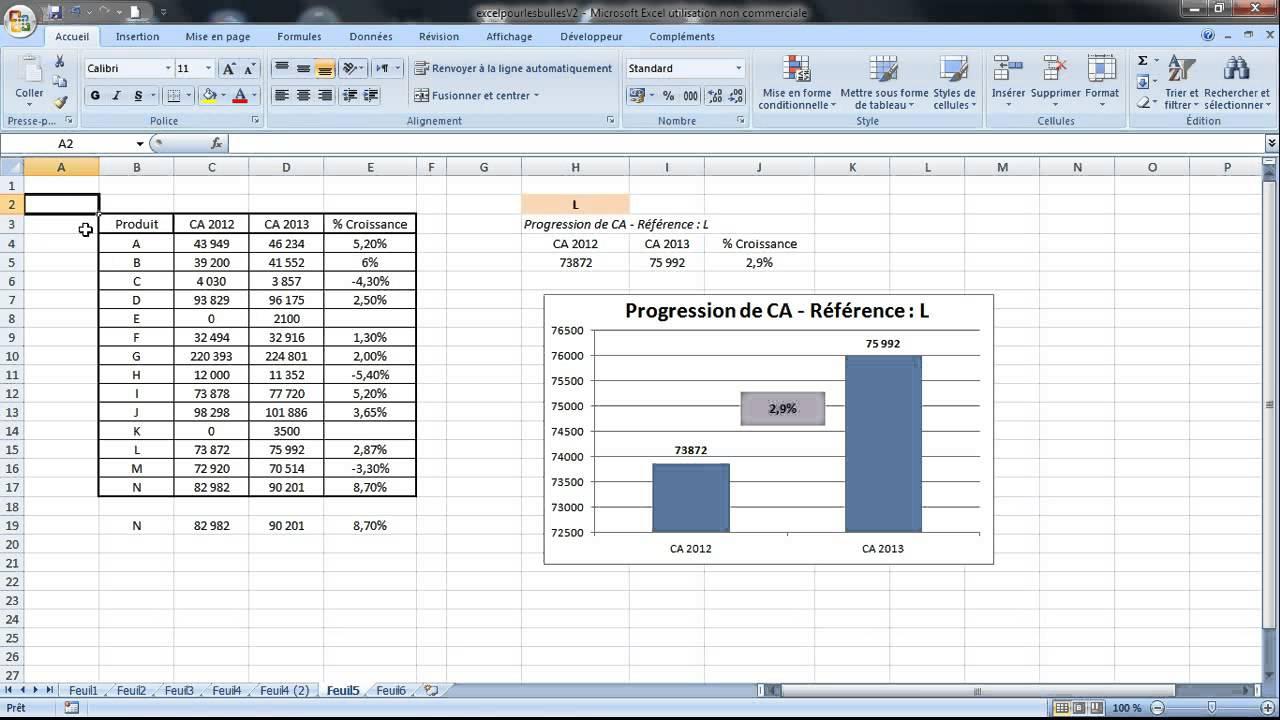 Faire Rapidement Le Quadrillage De Ses Tableaux Sur Excel Astuce