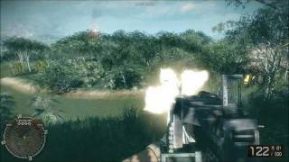 Battlefield Bad Company 2 Vietnam All Weapons And Vehicles