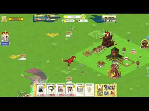 Facebook Game - Dragon War Part 1 - YouTube