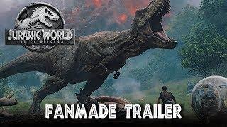 Jurassic World: Fallen Kingdom - Recreated Trailer [HD]