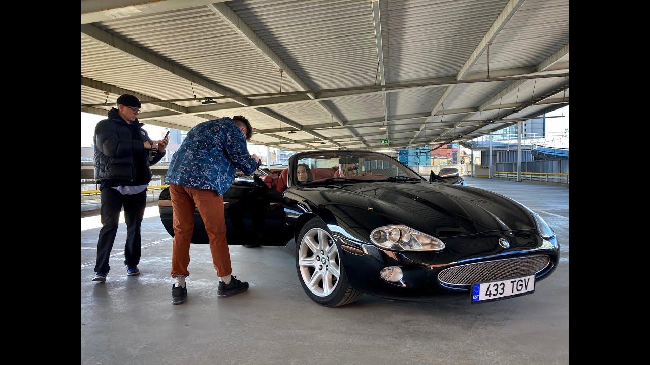 Kiskja äratamine talveunest: Jaguar XK8 Convertible  ///100autot.ee