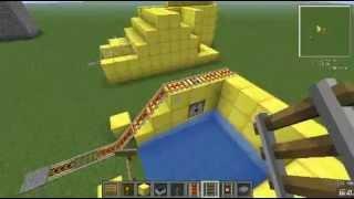 柑月的minecraft小教室 礦車抽獎機
