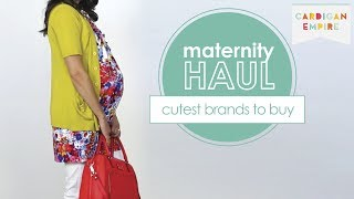 Maternity Haul: Cutest Brands to Buy Thumbnail