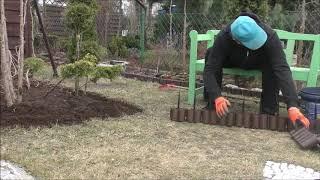GARDEN 57 - W lutym też można pracować w ogrodzie - Nowy klomb.