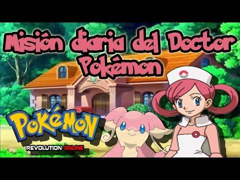 Pokémon Revolution Online: Misión diaria del Doctor Pokémon (Doctor Pokemon Daily Quest)