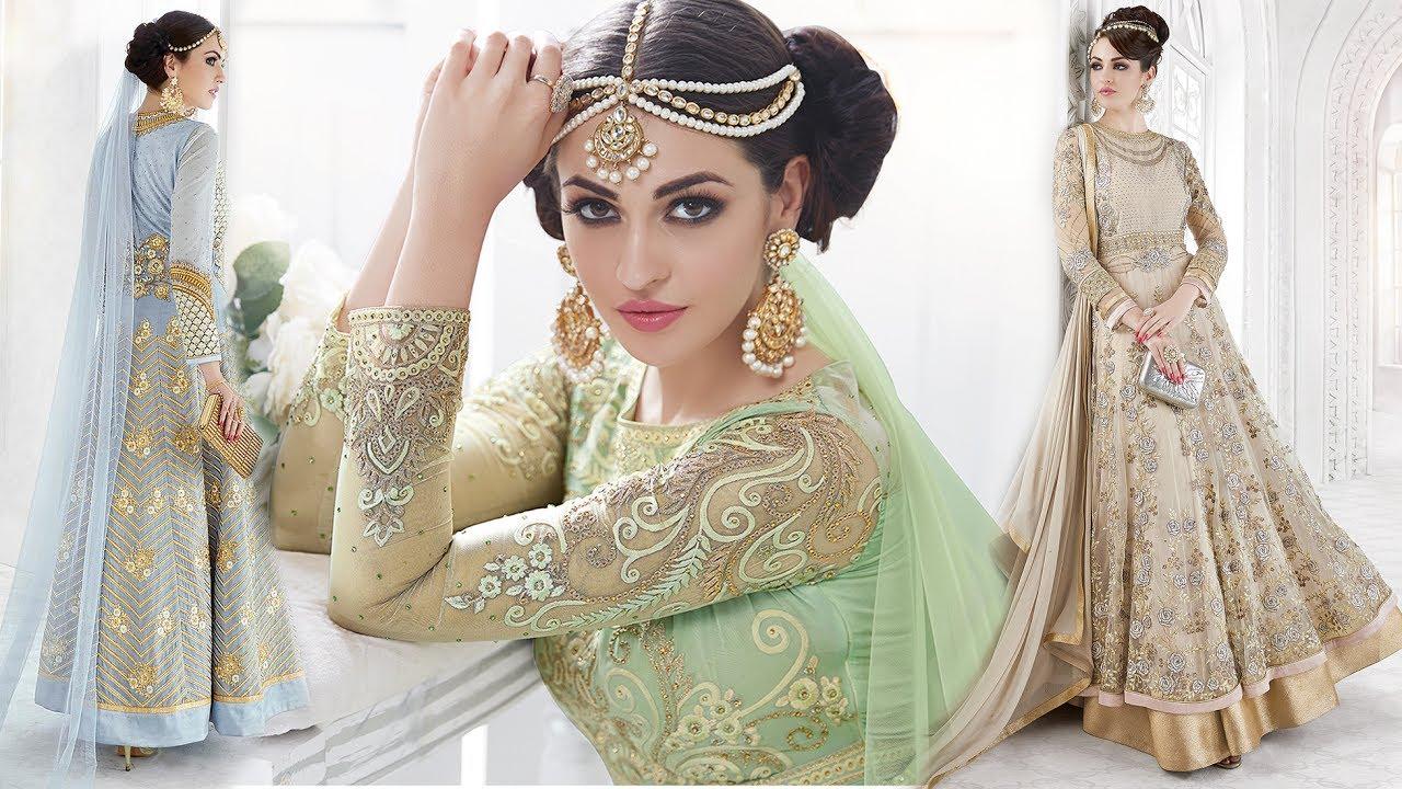 aba31f1b2ef2 Anarkali Dresses Designs Long Floor Length New Anarkali Dresses Stylish  Patterns Online India shoppi