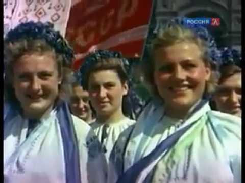 Сталин. Парад физкультурников 12 августа 1945 года
