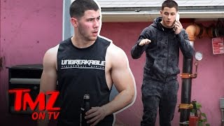 Nick Jonas: There's A Lot Going On Under This Jacket! | TMZ TV