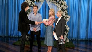 Beth and Howard Stern Have a Surprise 'Bachelor' Wedding
