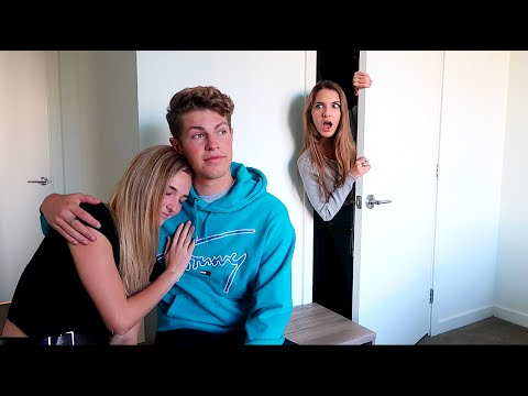 I SPENT THE NIGHT IN MY CRUSH'S ROOM!! (CAUGHT HIM DOING THIS)