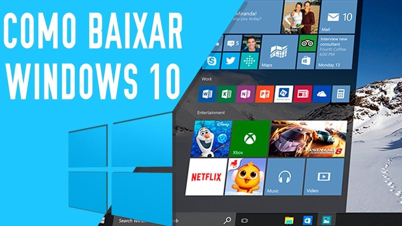 Baixar e Ativar Windows 10 (maio/2018 ATUALIZADO) | 32 e ...