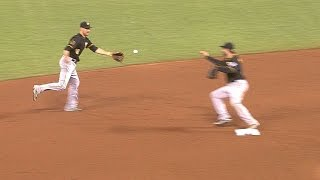 Mercer, Walker turn a spectacular double play