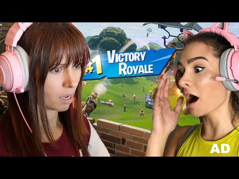 PLAYING FORTNITE WITH MY MUM.....
