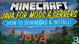 Gambar cover How To Download & Install Java for Minecraft (Get Java for Minecraft Mods & Servers!)