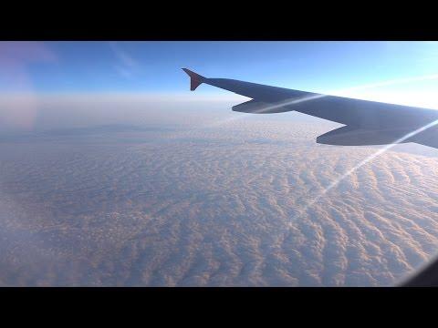 Авиаперелёт Москва-Томск (4K)