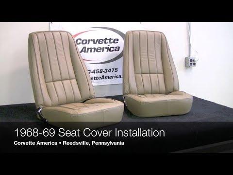 1968-1969 Corvette Seat Cover Installation