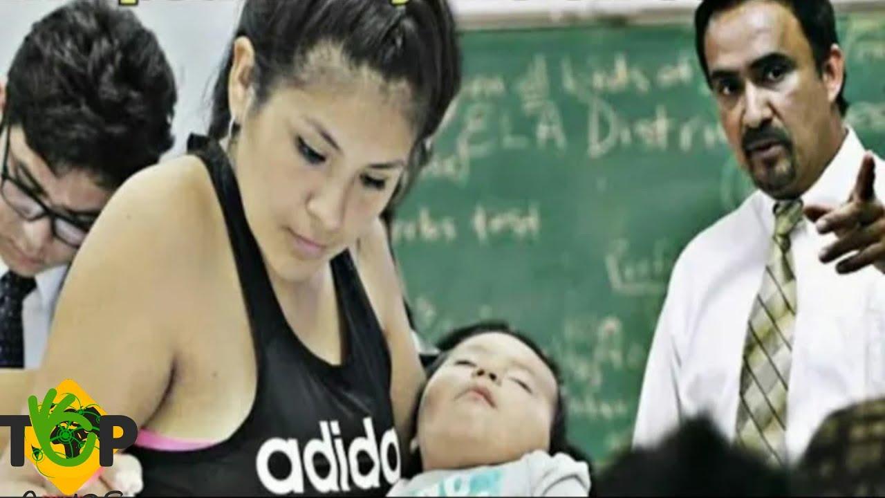 أخذت طفلها معها إلى الصف، وعندما رآه المعلم فعل شئ لا يصدقه أحد!!!