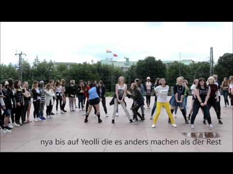 KPOP Random dance play - KCU Kday Hamburg  31.07.2016
