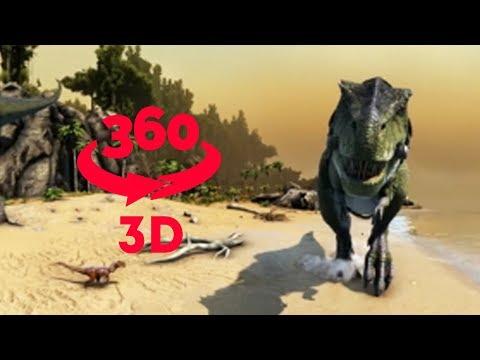 T-REX 360 || VR 360 in Stereo 3D
