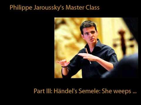 Jaroussky's Master Class In Ambronay 3/8: Händel's Semele For Countertenor