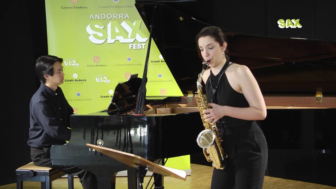 MARY OSBORN - 1st ROUND - V ANDORRA INTERNATIONAL SAXOPHONE COMPETITION 2018