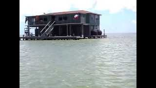 Fishing House in South Padre Island - Intracoastal Waterway - MiBelia In Texas
