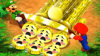 Mario Party The Top 100 MiniGames - Mario Vs Yoshi Vs Waluigi Vs Wario (Master Cpu)