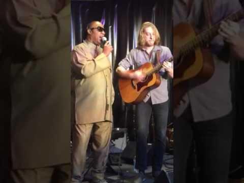 Amazing! Stevie Wonder & Grayson Erhard sing