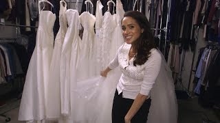 Meghan Markle - Suits: choosing a wedding dress