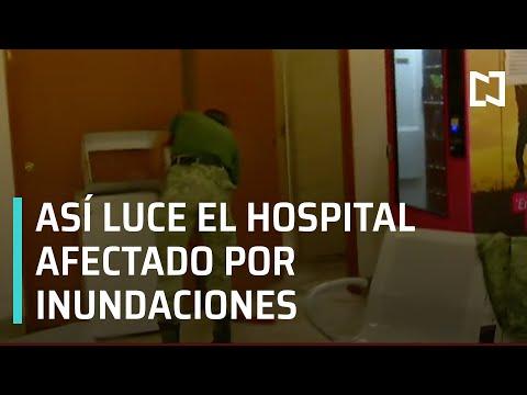 Así luce el Hospital Materno Infantil de Reynosa tras inundaciones causadas por Hanna - Las Noticias