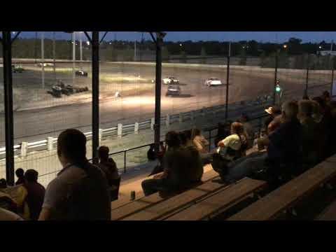 Chris & Colin Heim IMCA Stock Car Sherman County Speedway 9 1 18