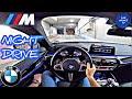 Bmw M5 (2020) Pov Night Test Drive Ambient Lighting