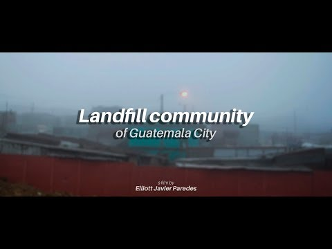 Landfill community of Guatemala City