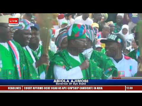 APC Presidential Campaign: Buhari Leads Train To Oyo Pt.2 |Live Event|