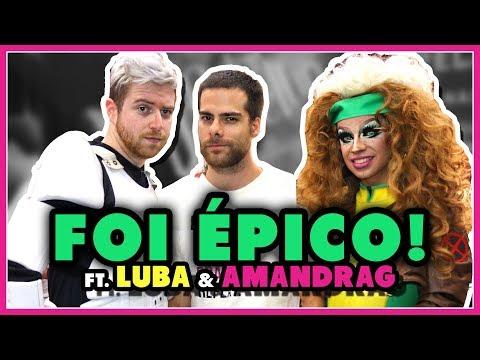 Qual herói o LUBA pegaria? Gays em GAME OF THRONES | na Comic Con 2017 - Põe Na Roda