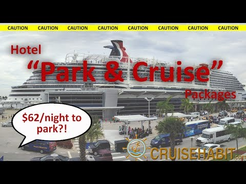 Hotel Park and Cruise Packages - Cruise Shuttles - Quick Tips