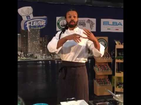 Chef Kenneth Temple, Live From Durban, South Africa