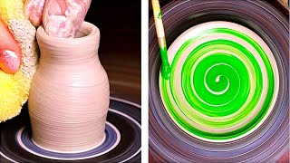 21 MESMERIZING POTTERY AND CEMENT CRAFTS