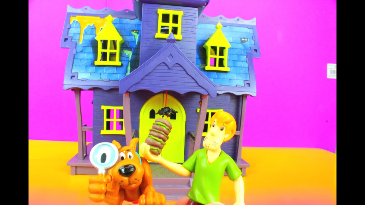 3234738403 Scooby Doo Mystery Mansion with Goo Turrent with Scooby and Shaggy ...