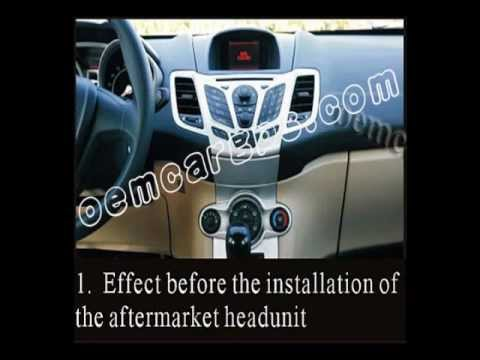 How To Install Car Dvd Gps System On Ford Fiesta Youtube