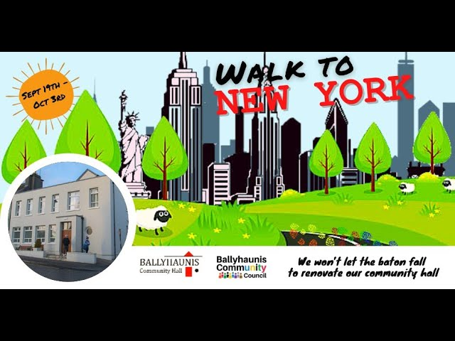 """""""Walk to New York"""" fundraising event a huge success"""