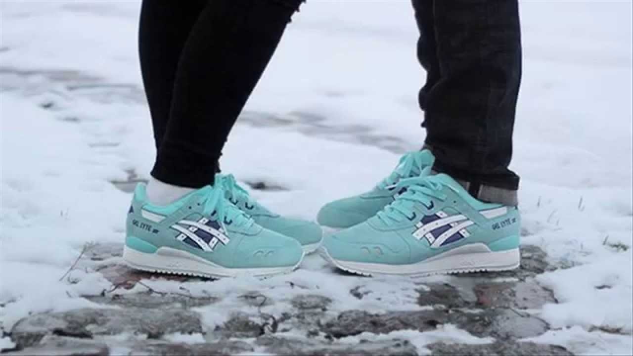 Asics Gel  Asics Gel Lyte  ASICS Gel Lyte III Womens Snowflake  Asics  Gel Lyte 3 Review - YouTube