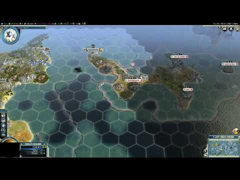 Sid Meier's Civilization V about 20 city's to about 3 in one turn Nukes |